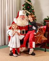 Santa and the Little Children